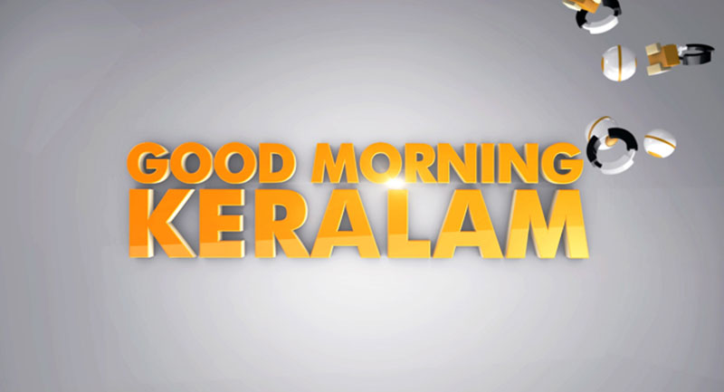 Good Morning Keralam program banner